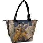 Realtree Women Handbags Camouflage Canvas Tote Hobo Shoulder Large Bags