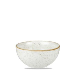 Churchill STONECAST Barley White Shallow Bowl Schüssel Porzellan 20 cl weiß