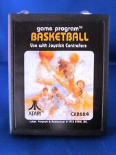 Atari 2600 Basketball CX2624 Video Game
