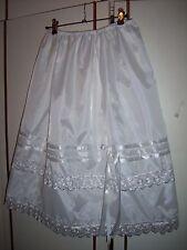 Wiesn  Dirndl Trachten Braut Unterrock Pettycoat Nylons 48 50 52 54 56  L 75 cm