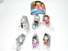 Bandai one Piece strap figure gashapon (full set of 6 strap figures)