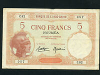 New Caledonia:P-36,5 Francs,1926 * French Rule *