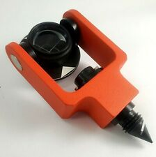 Survey Equipment Traverse Prism 30mm Offset Gimbaled With Bubble Level