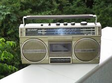 """Boombox Ghettoblaster Sharp GF-4343 """"Made in Japan"""" 1984 - For collectors!"""