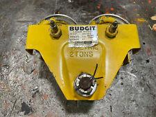 Budgit 509149 2 Catalog 81 12 Metric T Ton 1100 Lbs I Beam Trolley