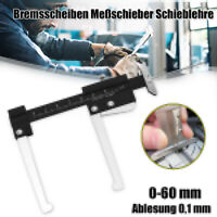 Profi Bremsscheiben Meßschieber Schieblehre Profilstärke Messgerät Messwerkzeug