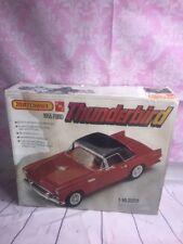 MATCHBOX PK-7506 AMT model kit 1955 thunderbird 1/16 scale Vintage car Toy