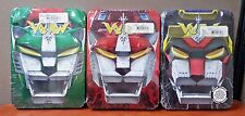 Voltron:Defender of the Universe  DVD Colections 3,4 & 5 Embossed Tins BRAND NEW