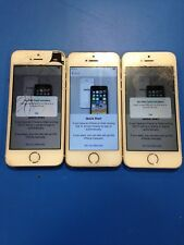 Lot of 3 Apple iPhone 5s A1533 -- TESTED -- READ DESCRIPTION (i-3-13)