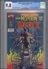 Marvel Comics Presents #72 CGC 9.8 1991 Marvel Comics Origin Wolverine Weapon-X