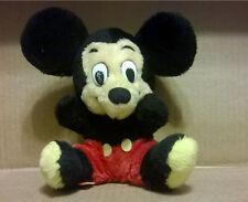 "Walt Disney Plush Mickey Mouse R Dakin 9"" Korea Ground NutShell Stuffed"
