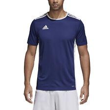 Adidas Entrada 18 t-shirt blu in Cotone da uomo CF1036 91973