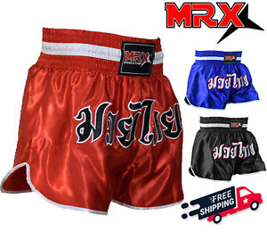 Muay Thai Kick Boxing Cage Fight Shorts MMA Grappling Martial Arts Gear UFC