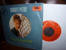 Brigitt Petry So alt wie die Welt So vergeh'n die '66