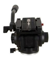 Pro Fluid Video Kopf Für Manfrotto Kamera Stativ 701HDV 501PL Qr Platte