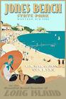 Jones Beach Long Island New York South Shore New Retro Art Deco Poster Print 341