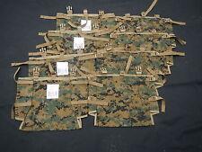 (8) New Camo US Marine Corps ILBE Pack Radio Utility Pouch MARPAT USMC Rucksack