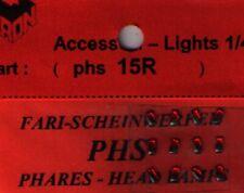Accessori 1/43 FARI ROSSI 1,5mm  TRON   PHS15R