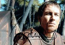 Tobias MENZIES Signed Autograph 12x8 Rome TV Series Brutus Photo AFTAL COA