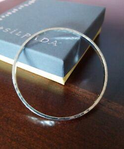 Silpada Sterling Silver Social Circle Bracelet B3205