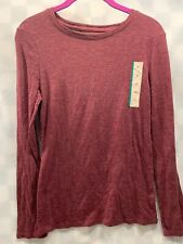 MERONA Long Sleeve Shirt Top Women's Size M NEW