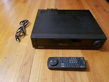 Sony Flying Erase Head VCR VHS Plus+ Player (SLV-696HF) ++ Remote & Power Cord!