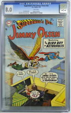 Superman's Pal JIMMY OLSEN 26 CGC 8.0 DC 1958 3rd Highest Graded Only 3 Higher