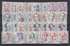 Berlin ex 770-849 Frauen 17 Werte waagerechte Paare postfrisch