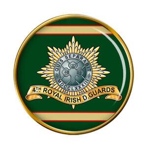 4th Royal Irish Dragoon Guards, British Army Pin Badge