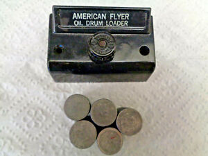 """American Flyer S Gauge #779 """" Louie The Loader """" Control Button & Drums Only"""