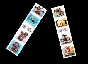Personalised 4Photo Collage Bookmark