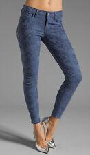 BB Dakota Collective khloe blue jacquard Skinny Jeans Size 27 Sold out !!!