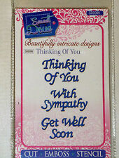 Sweet Dixie Thinking of You die set SDD099