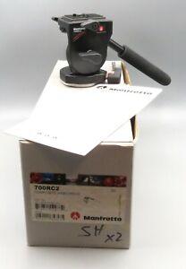Manfrotto 700RC2 Mini Composite Fluid Video Head NEW