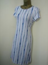 Marks & Spencer Stripe Cut out Back Jersey Dress Sizes 8 to 18 BNWTS