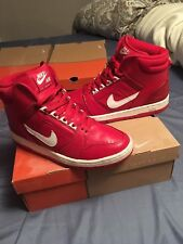 Nike Air Force 2 High - Red/White - Size 9.5 - Pre-owned W/ OG Box
