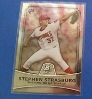 STEPHEN STRASBURG 2010 BOWMAN PLATINUM PROSPECT CARD #1 NATIONALS (( ROOKIE ))