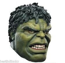Super Hero Avenger Incredible Hulk Adult Latex Mask Masquerade Halloween Cosplay