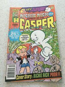 Richie Rich & Casper  2  VG+  4.5  Harvey Comics  Poor Little Rich Kid