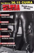 French mag adult WANDA n°17 bdsm latex fetish