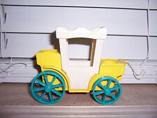 Vintage Fisher Price Little People Castle Royal Carriage