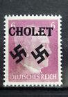 Local Deutsches Reich WWll Propaganda,Private overprint Cholet MNH