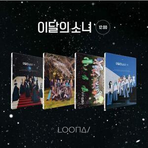 LOONA MONTHLY GIRL 12:00 3rd Mini Album CD+Photobook+Photocard+Etc+Tracking Num