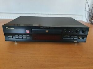 Pioneer PDR-609 CD Recorder VGC Fully Tested Remote Control Manual