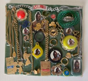 Rare 1980s KO Mr. T Jewlery Set Vintage MOC MIP Vending Machine Cheap Toy Arcasf