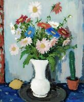20th century French Impressionist Still Life of Flowers Louis VALTAT (1869-1952)