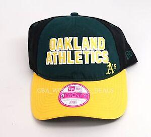 New Victoria's Secret PINK New Era 9TWENTY Women Oakland Athletics Snapback Hat