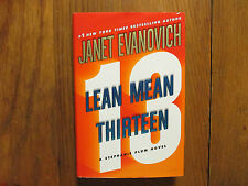 "JANET  EVANOVICH  Signed Book(""LEAN  MEAN THIRTEEN""-2007 First Edition Hardback)"