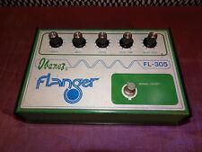 Ibanez FL-305 Flanger. Vintage original. Made in Japan. Reticon SAD1024 chip.