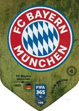 Panini FIFA 365 2019 Adrenalyn XL Club Badge Karte Nr. 100  FC Bayern München